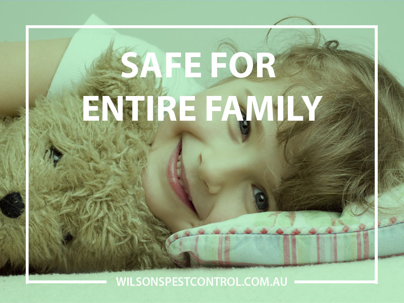Is your pest control treatment safe for my family, children and pets?