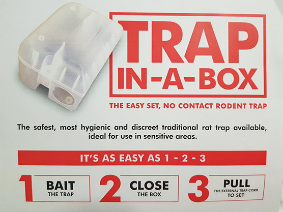 Mouse Trap in a Box Trap in a Box Rodent Control