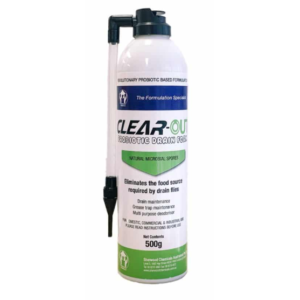 Drain Cleaner Pest Control, Clearout Probiotic Drain Foam 500g