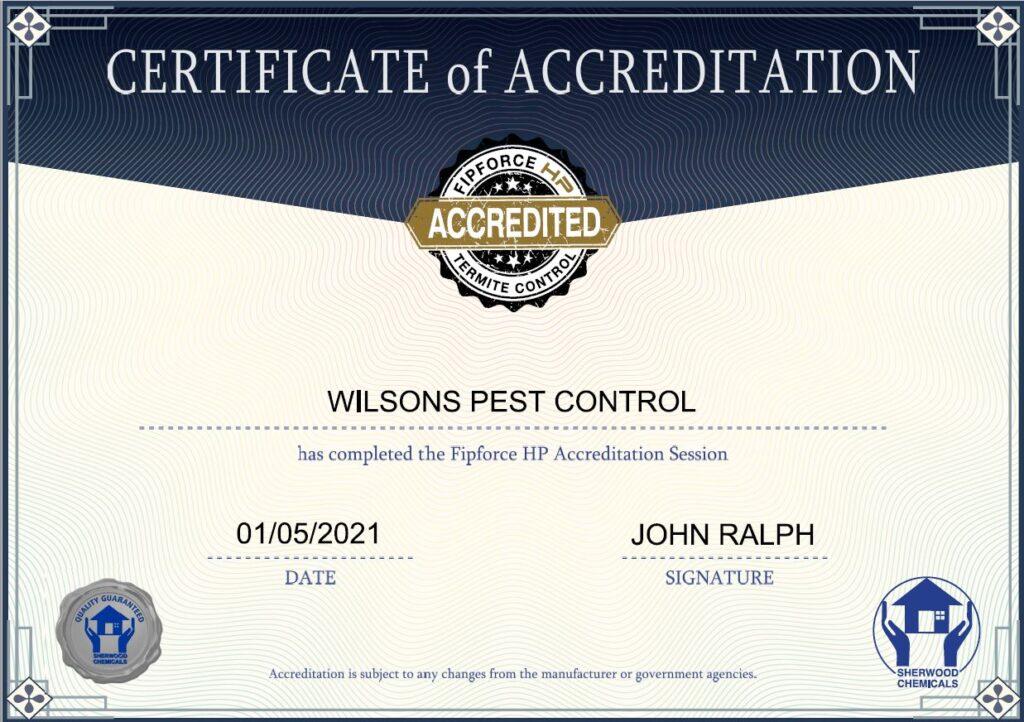 Fipforce accredited Pest Control blacktown & Holroyd